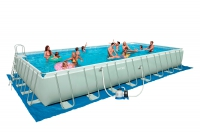 Бассейн каркасный с комплектом 975х488х132 см, Ultra Frame, Intex 28372/54990