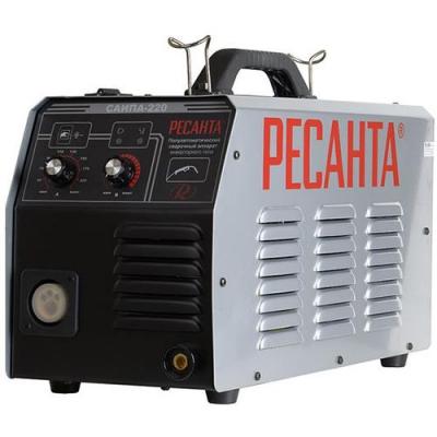 Инверторный полуавтоматический сварочный аппарат Ресанта САИПА 220