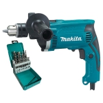 Дрель ударная Makita HP 1630 KX2