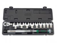 Ключ динамометрический TOPTUL (GAAI1101) + рожковые насадки 13-30мм
