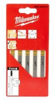 Пилки для лобзика MILWAUKEE T101DP 75 мм для точных, прямых резов