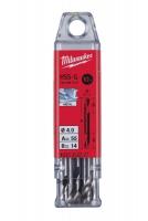 Двухстороннее сверло по металлу (10 шт.) MILWAUKEE HSS-G DBL 4X55