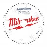 Диск пильный по дереву D 184х30х2,0 мм 54Z WNF MILWAUKEE