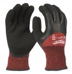 Перчатки рабочие зимние с защитой от порезов уровень 3 MILWAUKEE