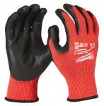 Перчатки рабочие с защитой от порезов уровень 3 MILWAUKEE