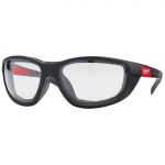 Очки с повышенной защитой с уплотняющей вставкой PREMIUM (прозрачные) MILWAUKEE в Бресте