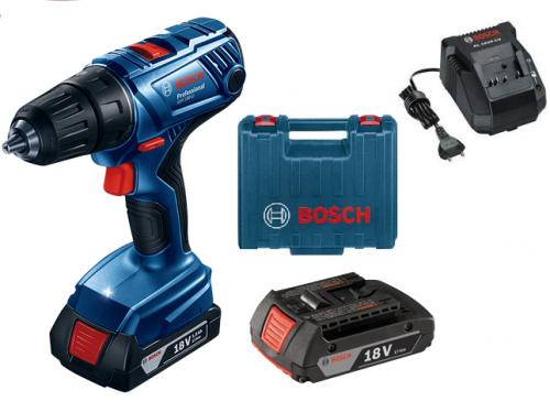 Шуруповерт Bosch GSR 180-LI аккумуляторы 2.0 А/ч