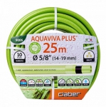 Поливочный шланг Claber Aquaviva Plus 5/8'' (14-19MM) 25 м 9006