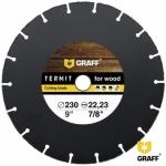Отрезной диск по дереву GRAFF Termit 230 мм для болгарки