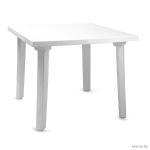 Стол квадратный, белый
