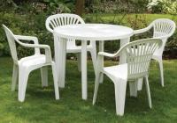 Набор садовой мебели Луч белый в Бресте