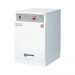 Медицинский компрессор безмасляный Remeza СБ4-16.VS204KМ с шумоизоляционным кожухом и мембранным осушителем