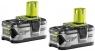 2 аккумулятора с зарядным устройством RYOBI RC18120-240 ONE+