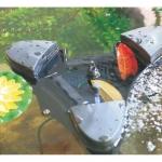 Скиммер для пруда плавающий со встроенным аэратором и фонтаном SunSun CSP-2500