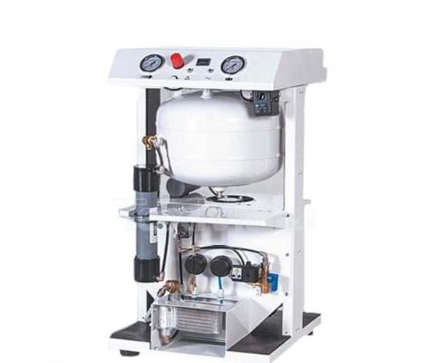 Медицинский компрессор безмасляный Remeza СБ4-24.OLD10CКМ с кожухом и мембранным осушителем