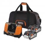 Аккумулятор AEG SET LL1840BL (2) с зарядным устройством (в сумке) в Бресте