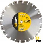 Алмазный диск по асфальту GRAFF 400x10X3,0x20/25,4 мм