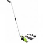 Аккумуляторные садовые ножницы-кусторез GreenWorks G7,2GS 7,2В+ штанга удлинитель