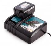 Комплект аккумулятор 18.0 В BL1830B 1 шт. + зарядное DC18SD в Бресте