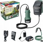 Беспроводной полив BOSCH GardenPump 18 аккумуляторный