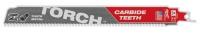 Полотно для сабельной пилы (по металлу) MILWAUKEE TORCH CARBIDE TEETH 230х3,6 (5 шт.)