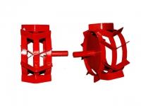 Грунтозацепы ф 350/270 мм, шир. 160 мм, 6-гр. втулка 26 мм