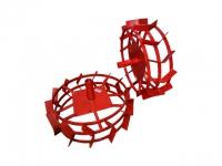 Грунтозацепы ф 540/460 мм, шир. 160 мм, 6-гр. втулка 32 мм