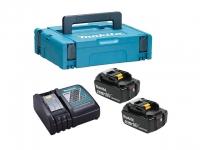 Аккумуляторы MAKITA BL1840 2 шт*4.0Ah Li-Ion + зарядное DC18RC