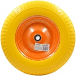 Колесо для тачки 4.00-8 PU (20X65) литое