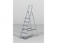 Лестница-стремянка алюм. 125 см 6 ступ. 4,4кг PRO STARTUL (ST9940-06)