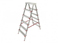 Лестница-стремянка алюм. 132 см 6 ступ. 5 кг PRO STARTUL (ST9941-06)