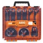 Набор оснастки для реноватора OMNI AEG 9 шт в кейсе