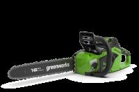 Пила цепная аккумуляторная GreenWorks GD40CS18 40В G-MAX DigiPro
