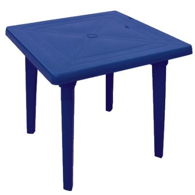 Стол квадратный, синий