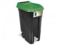 Контейнер для мусора пластик. 120л с педалью