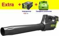 Аккумуляторная воздуходувка Greenworks 80V Pro  GD80BL