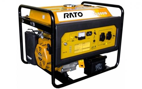 Генератор бензиновый (электростанция) RATO R5500D