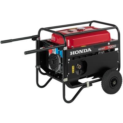 Генератор, электрогенератор (электростанция) Honda ECMT 7000
