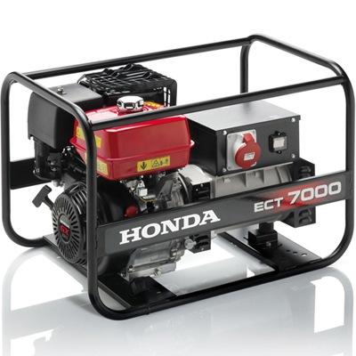 Генератор, электрогенератор (электростанция) Honda ECT7000