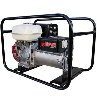Бензиновый электрогенератор Europower EP7000E/25