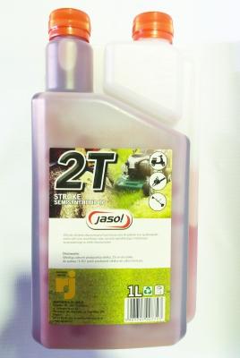 Масло JASOL 2T TC RED для 2Т двигателей, с дозатором