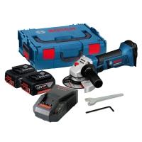 Аккумуляторная угловая шлифмашина Bosch GWS 18-125 V-Li Professional