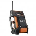 Радио аккумуляторное AEG BR 1218 C-0