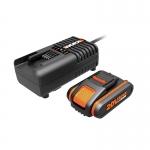 Аккумулятор и зарядное Worx WA3601