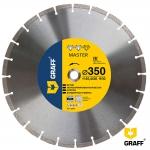 Алмазный диск GRAFF Master по бетону и камню 350x10x3,2x25,4/20 мм