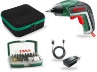 Отвертка аккумуляторная Bosch IXO V Bit Set