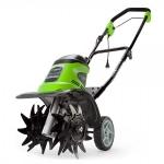Электрический культиватор GreenWorks GTL9526