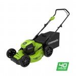 Аккумуляторная газонокосилка GreenWorks GD40LM46HP