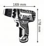 Шуруповерт Bosch GSR 12V-15  0.601.868.109
