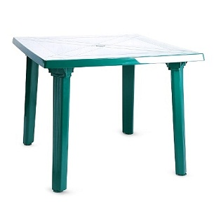 Стол квадратный зеленый Милан